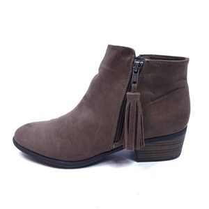 MIA Alex Leather Tassel Ankle Boots Size 9.5